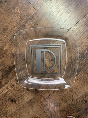 Acrylic Square Dish