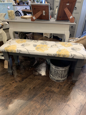 FGF173 GREY YELLOW BENCH
