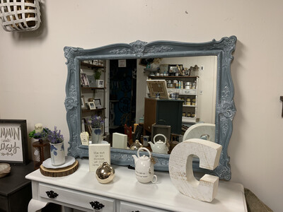 FGF Floral Ornate Mirror