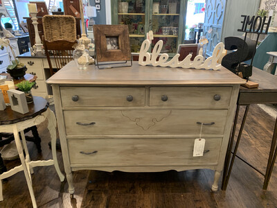 SSC 3 Drawer Dresser Antique