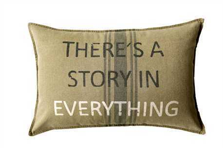 "There's A Story 16x24"" Pillow 807472945293"