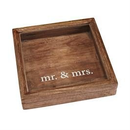 Mr. and Mrs. Keepsake Box