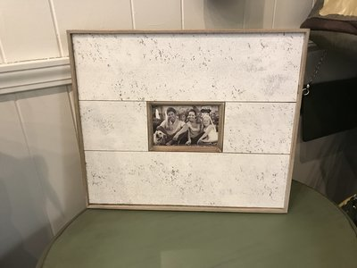 Cream Wash Antique Frame