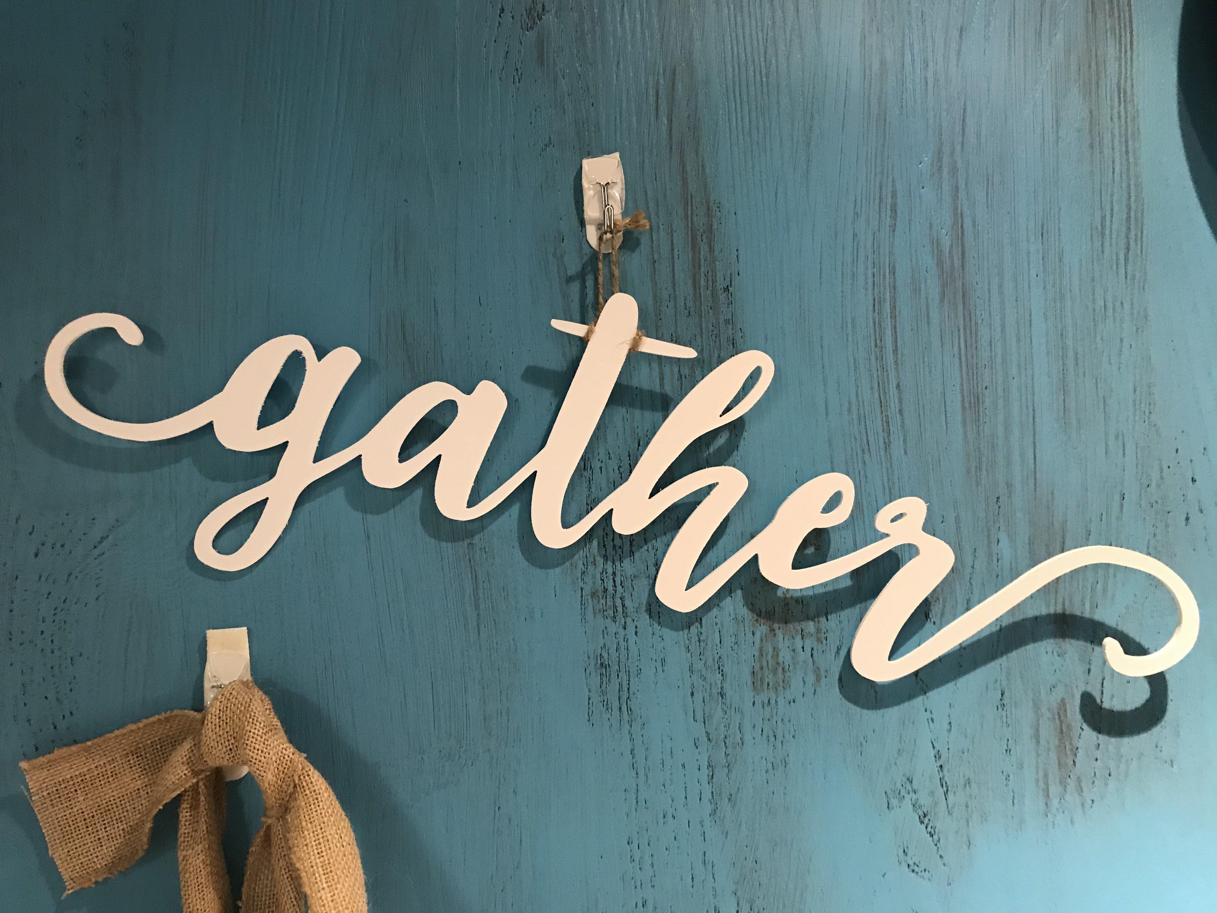 White Wood Gather ww1