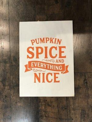 RCC Pumpkin spice & Everything Nice