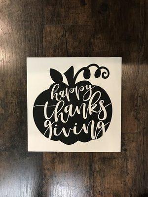 RCC Happy Thanksgiving Pumpkin