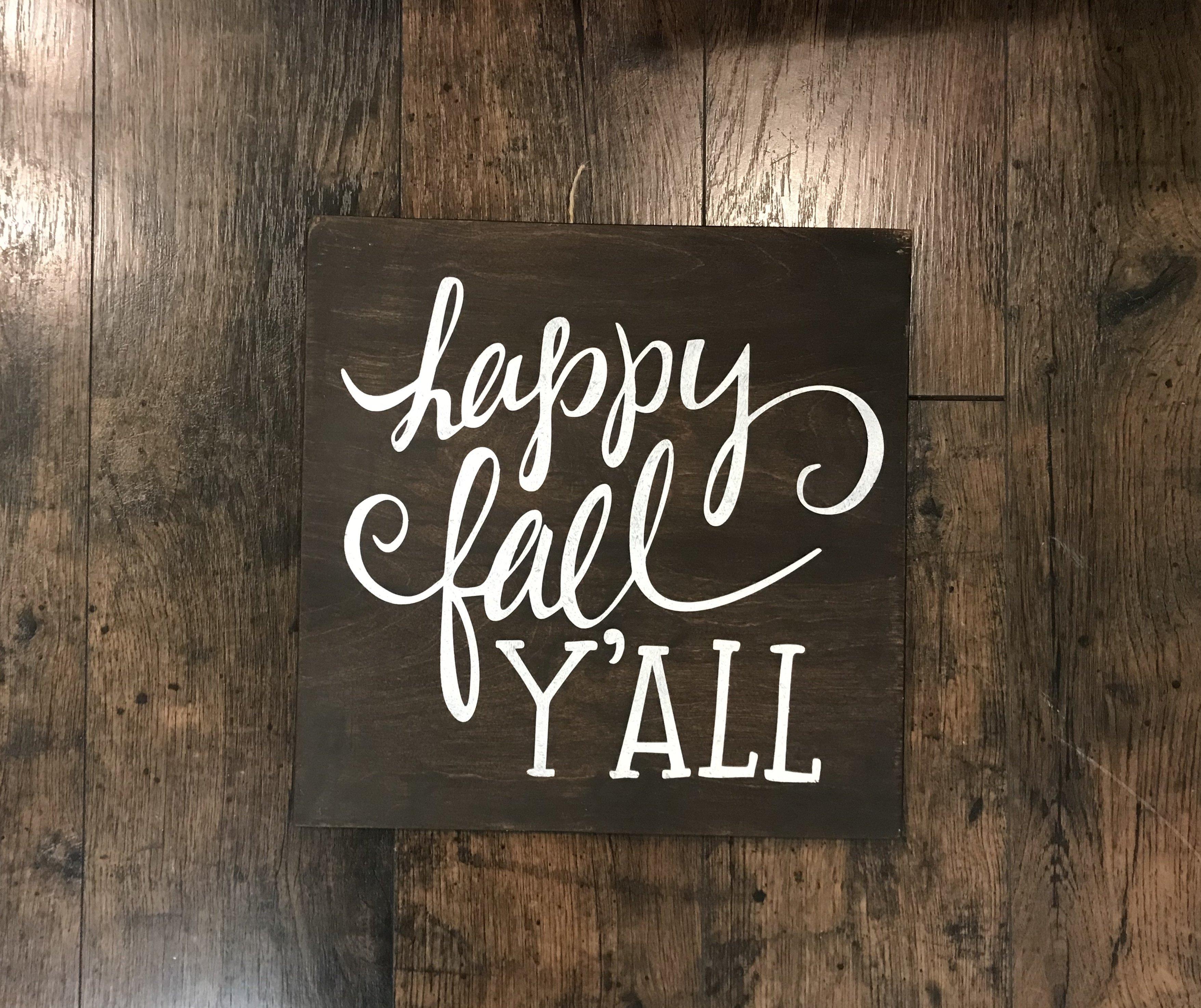 RCC Happy Fall Yall rcc45