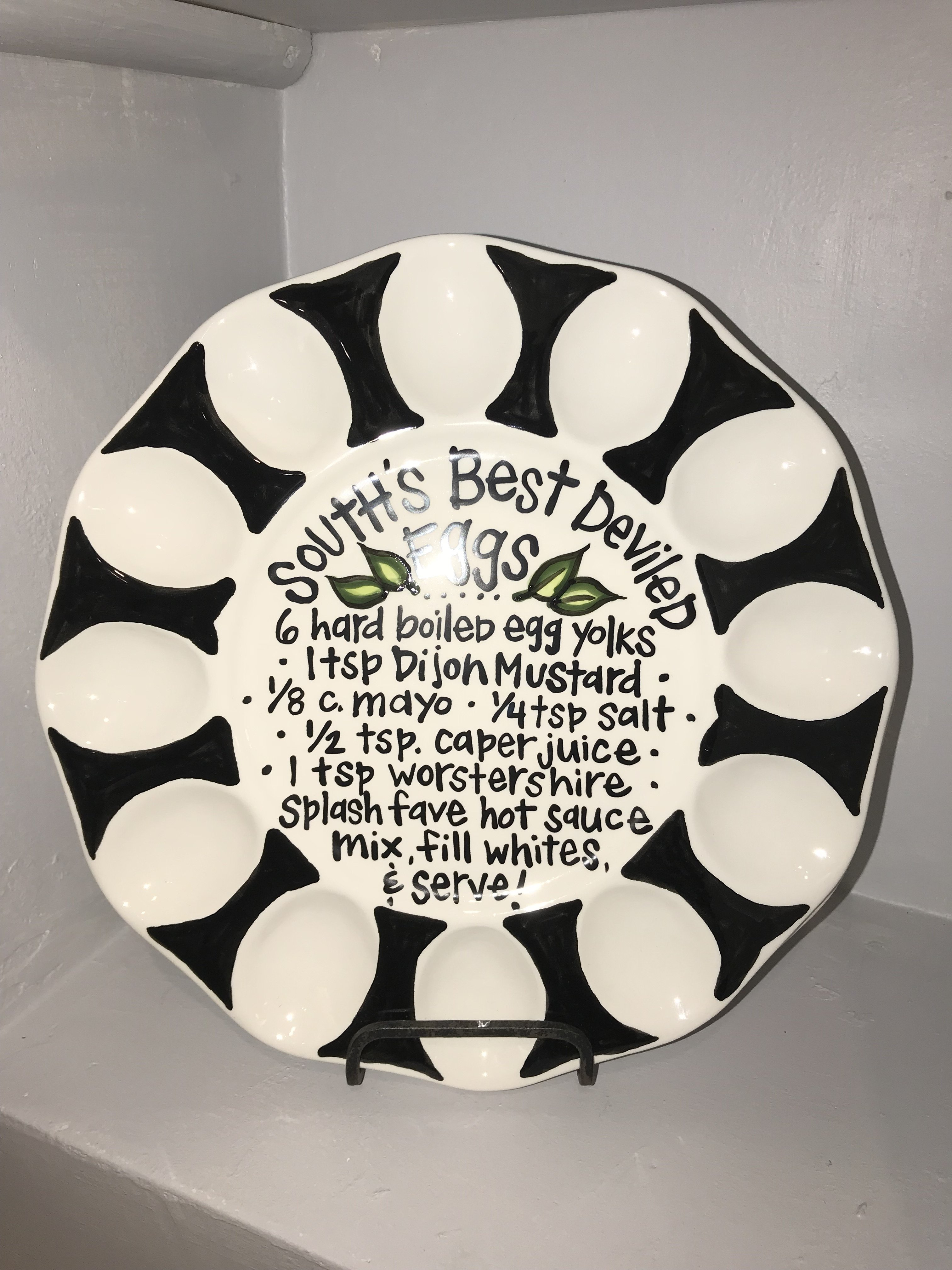 South Best Deviled Egg Plate 849046038536