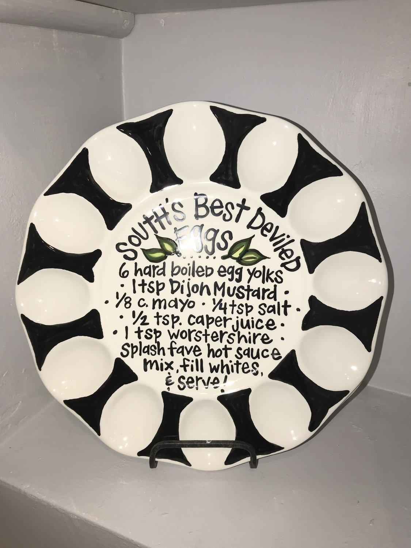 South Best Deviled Egg Plate
