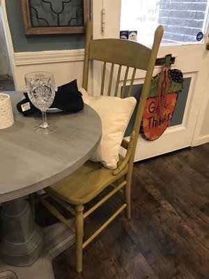 SSC Set Of 2 Mustard Chairs