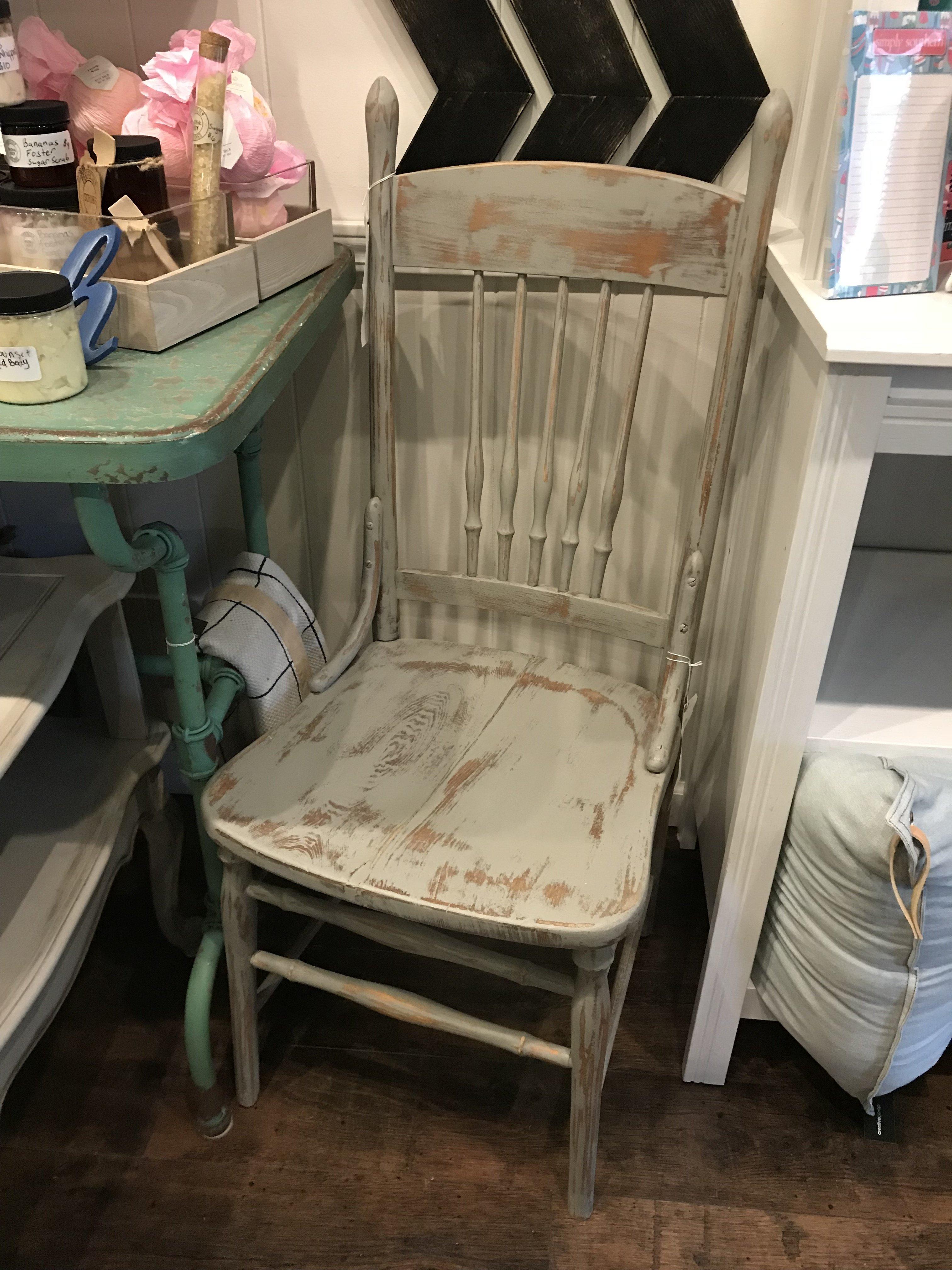 SSC Grey Antique Chair sscf36