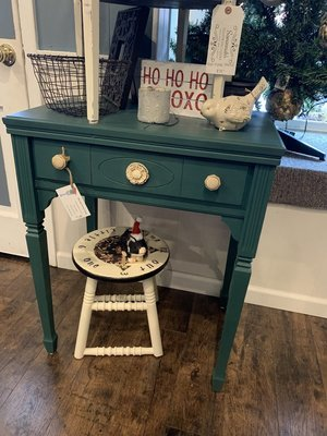OLG Teal Side Table