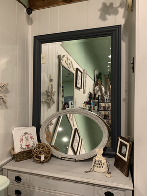 FGF Large Beveled Mirror