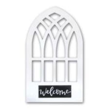 Welcome White Window