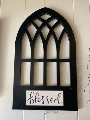 Blessed Window Frame