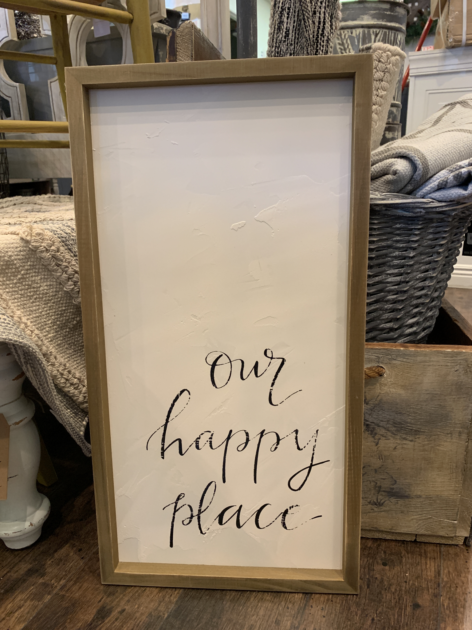 Our Happy Place Wall Decor 683731320403
