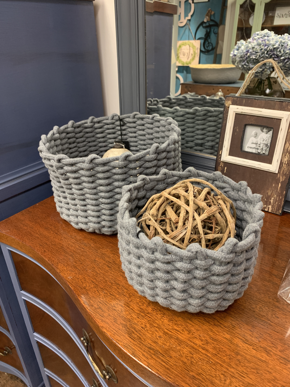 Woven Basket Set Of 2