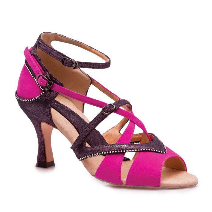 Pink & Black Capezio Shoe 02875