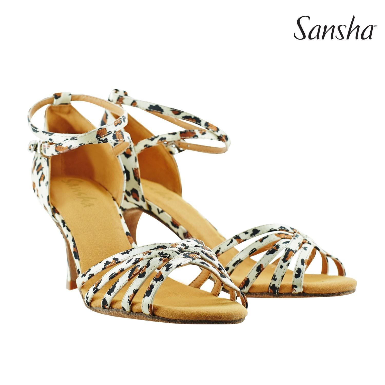Cheetah Print Sansha Shoe 02876