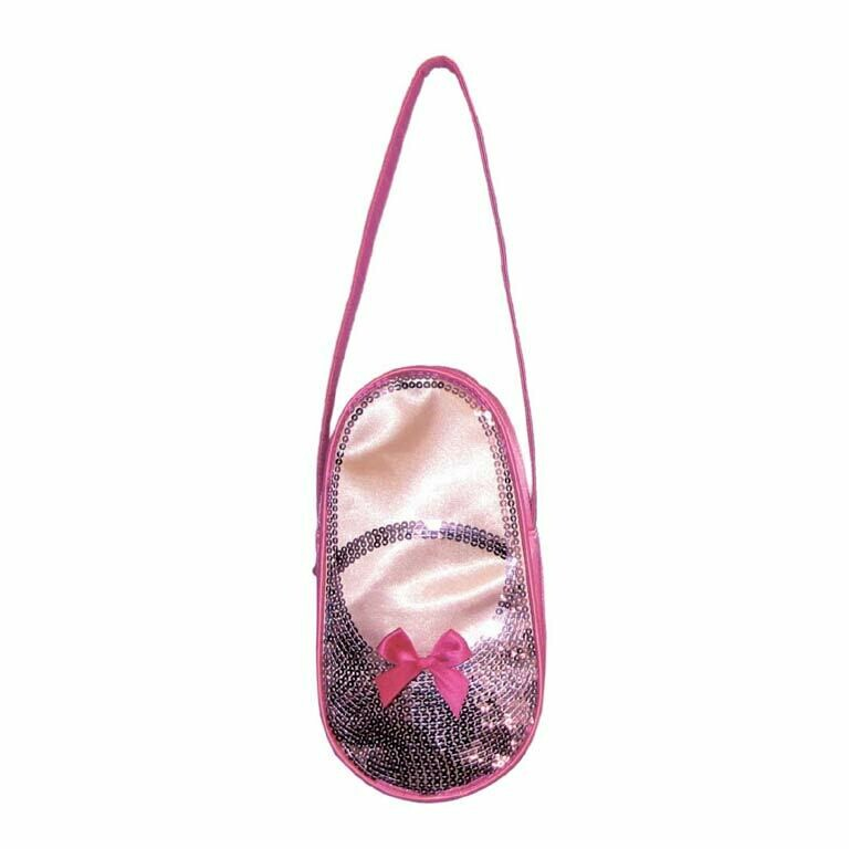 Satin & Sequins Ballet Shoes Tote H3403