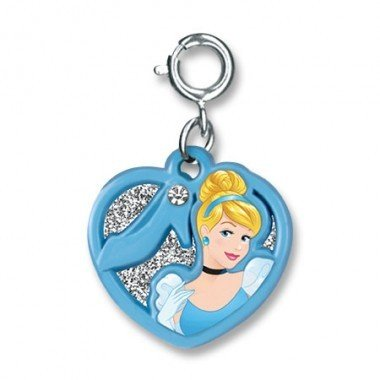 CHARM IT! Cinderella Swivel Heart Charm 24