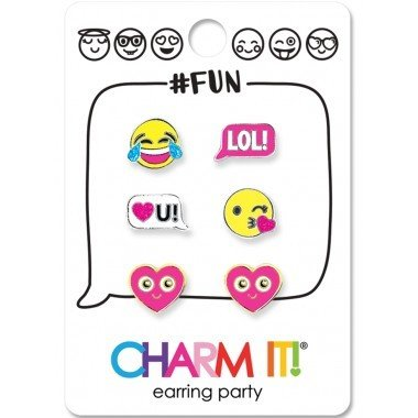 CHARM IT! Earrings Emoji