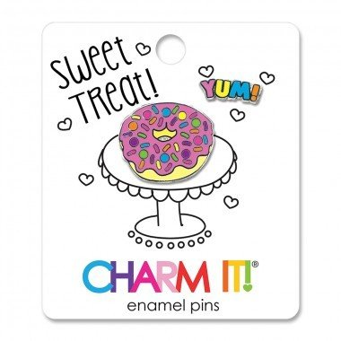 CHARM IT! Enamel Pins Donut