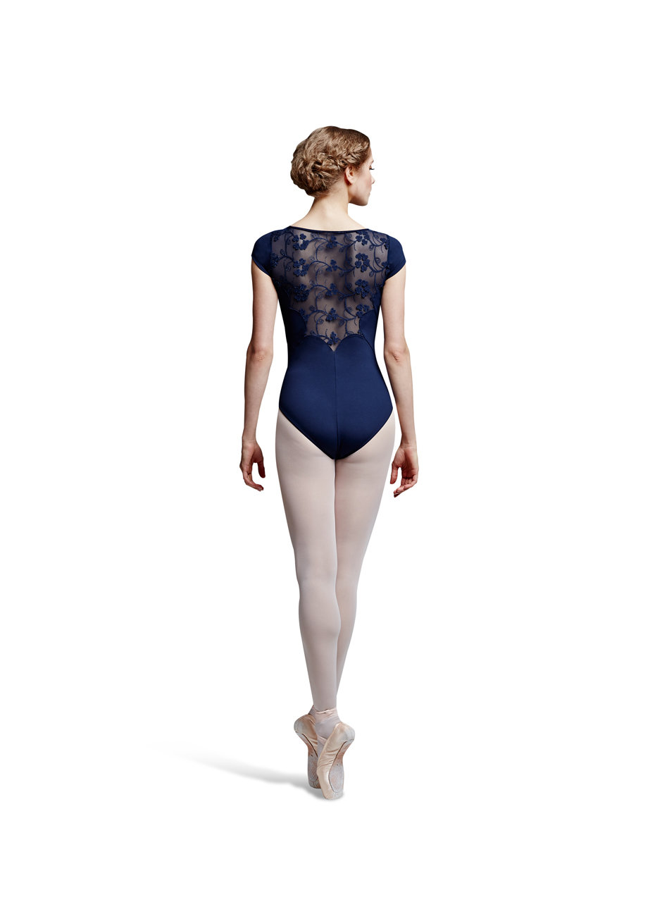 BLOCH Clover Mesh Cap Leotard - Adult