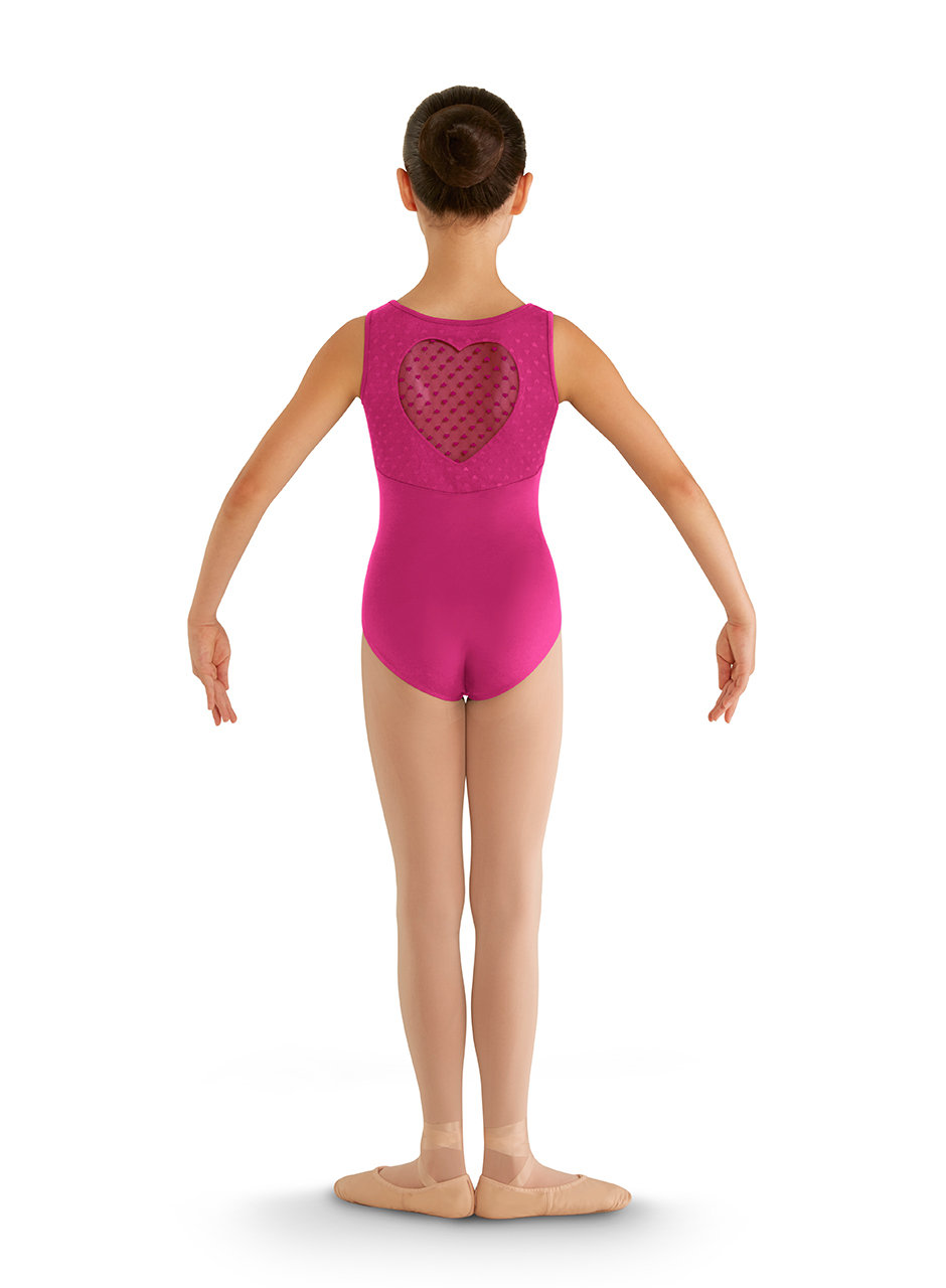 BLOCH Heart Mesh Tank - Child 00007