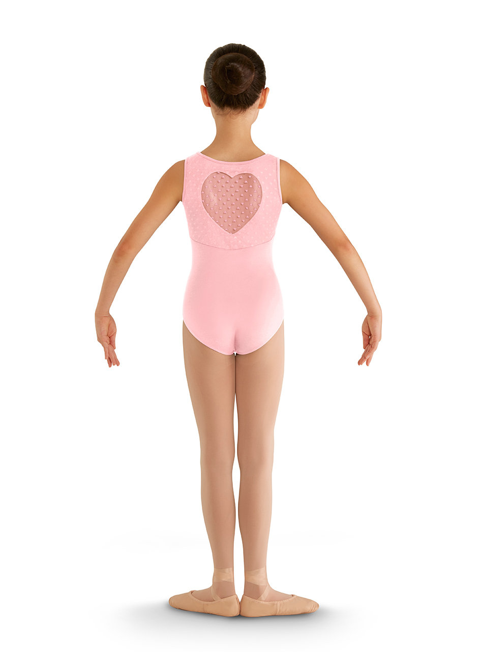 BLOCH Heart Mesh Tank - Child