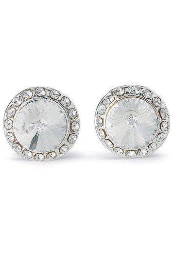 Rhinestone Clip On Earrings 00038