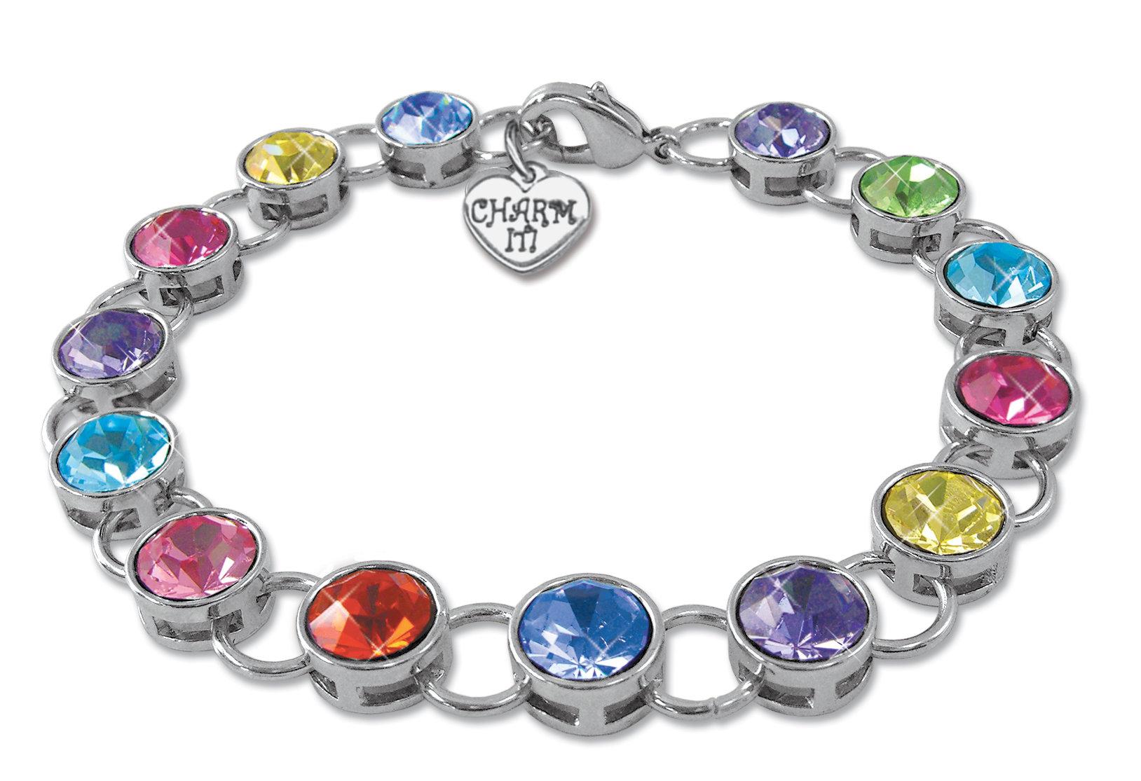 CHARM IT! Acrylic Link Bracelet 10