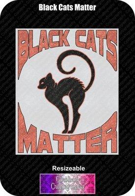 Black Cats Matter Vinyl
