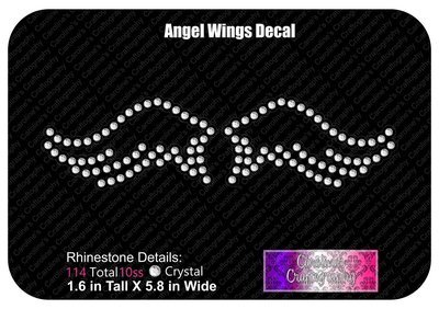 Angel Wings Decal