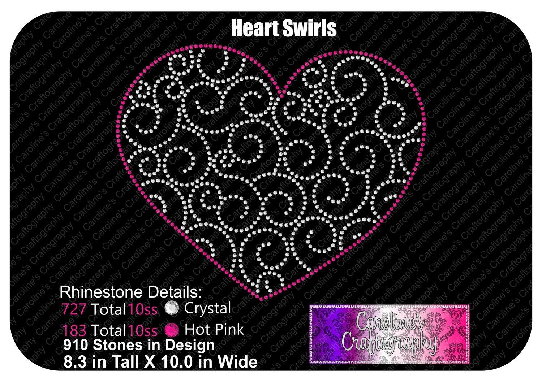 Heart Swirls Stone