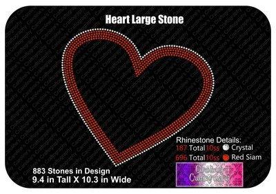 Heart Large Stone