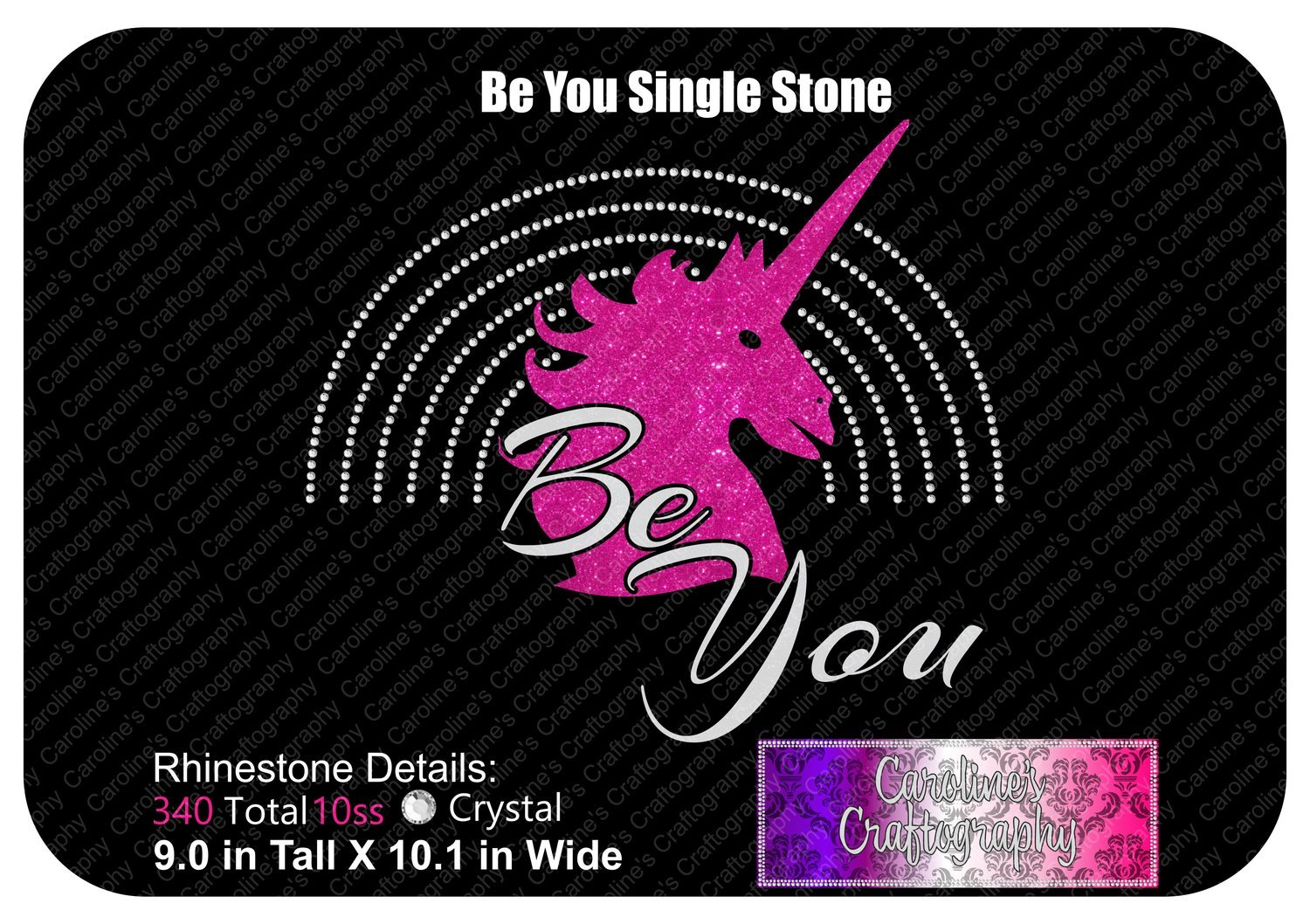 Be You Single Color Stone Vinyl