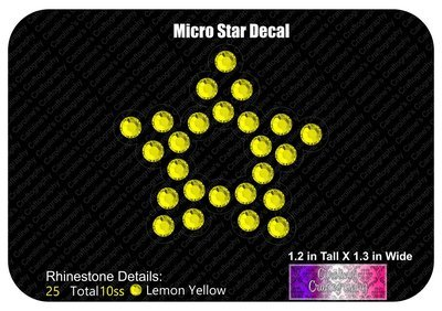 Micro Star Decal