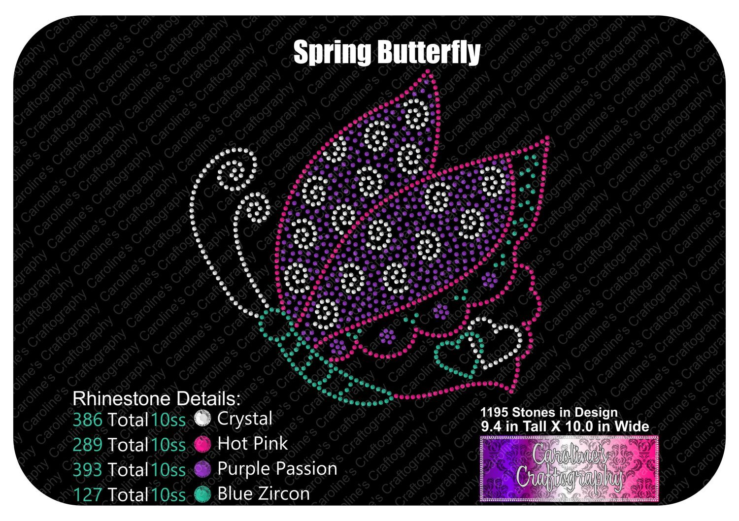 Spring Butterfly Stone