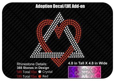 Adoption Symbol Decal LVE Add-on