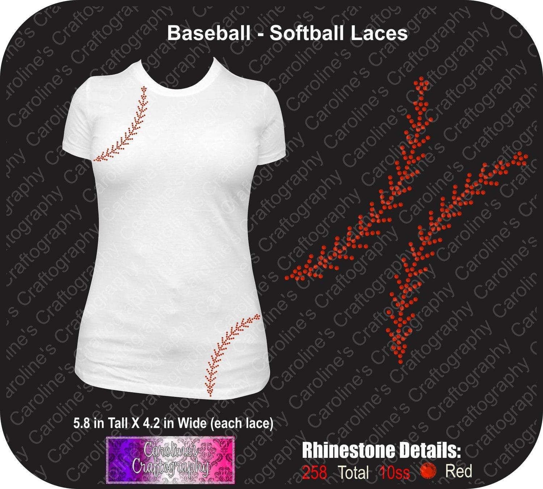 Baseball - Softball Laces Stone