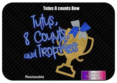 Tutus, 8 Counts and Trophies (allstar cheer)