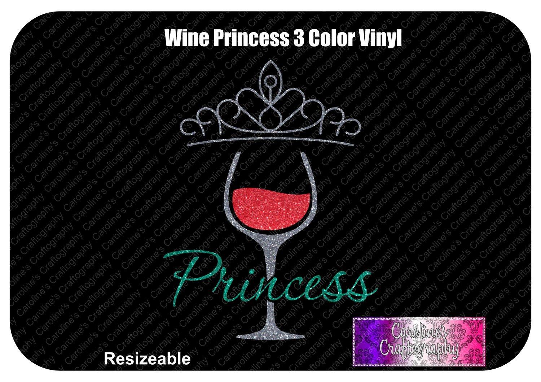 Wine Princess 3 Color Vinyl