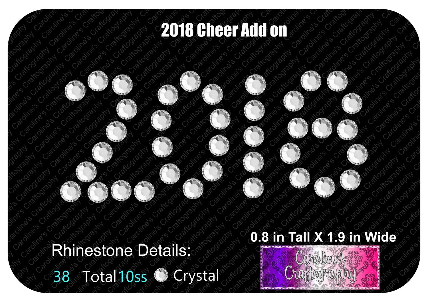 2018 Cheer Bow Add on