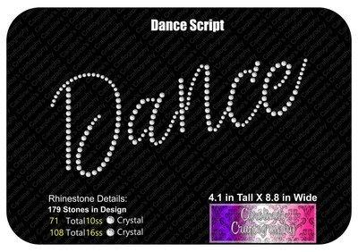 Dance Script Stones