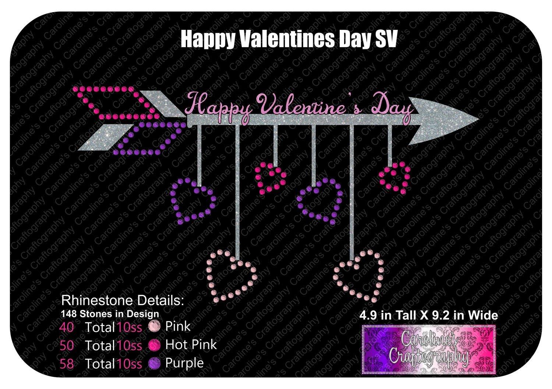 Happy Valentine's Day Stone Vinyl (SV)
