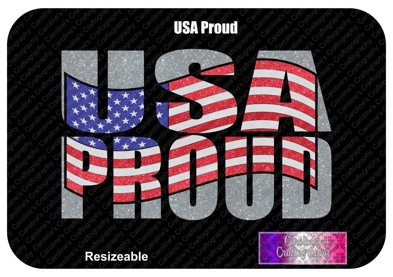USA Proud Vinyl
