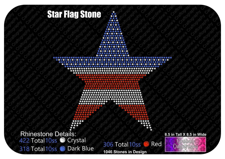 Star Flag Stone