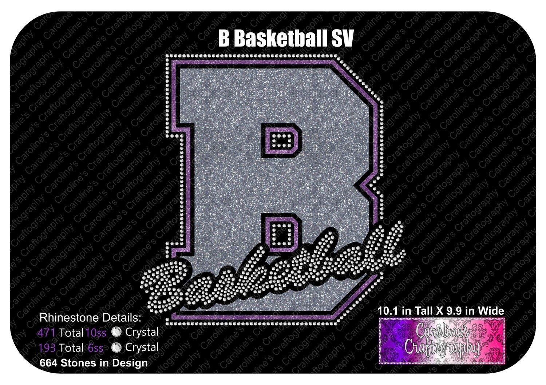 B Basketball Stone Vinyl (SV)