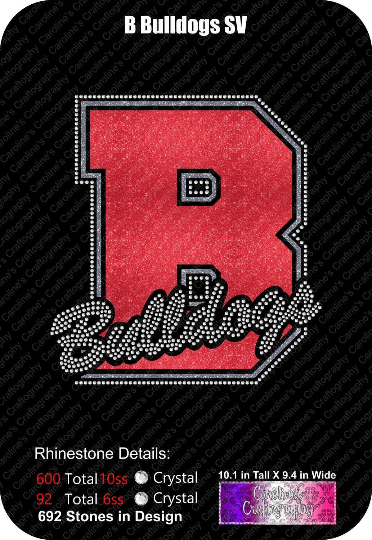 B Bulldogs Stone Vinyl (SV)